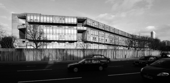 Kit forschung brutalismus for Architektur brutalismus